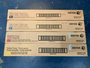 Xerox Docucolor 240 250 252 260 Set Toner Workcentre 7655 7665 7675 006r01219 22