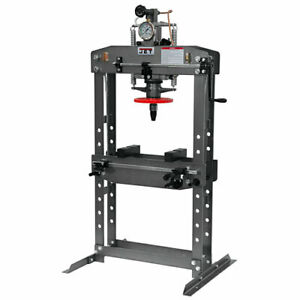 Jet Tools 331416 Hydraulic Shop Press Capacity 15 Tons Ram Diameter 2 1 2 Pist