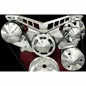 March Performance 21225 Pro Track Serpentine Drive Kit Big Block Chevy