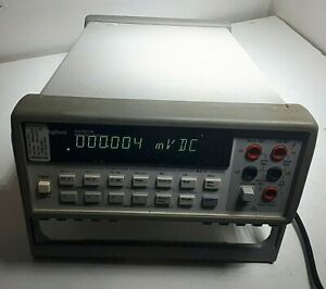 Hp Agilent 34401a Digital Multimeter 6 Digit