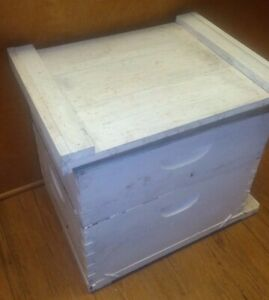 Complete Beehive 16 X 18 Painted White