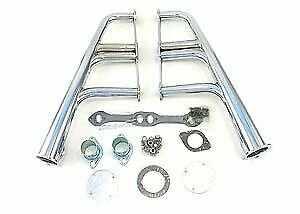 Patriot Exhaust H8041 Lakester Headers Small Block Chevy 265 400 Oval Ports 1