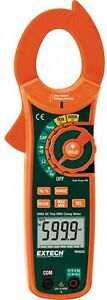 Clamp Meter W Ncv Voltage Tester Data Hold Auto Ranging 600 Amp True Rms Ac