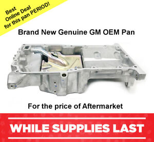 Oil Pan Brand New Gm Oem 2 2l 2 4l 2005 2010 Chevrolet Cobalt 12601240