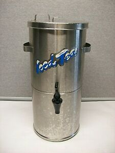 Curtis Streamliner Vollrath Stainless Steel Commercial Iced Tea Dispenser Used