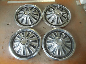1967 67 Mercury Cougar Hubcap Rim Wheel Cover Hub Cap 14 Oem Used 608 Set 4