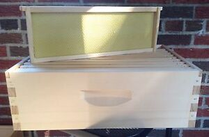 Beekeeping Set Of Two 10 Frame Honey Supers assembled