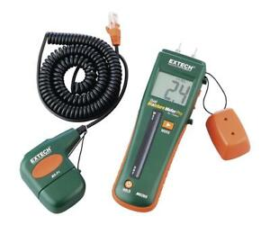 Extech Mo265 Combination Pin pinless Moisture Meter With Remote Probe Accessory