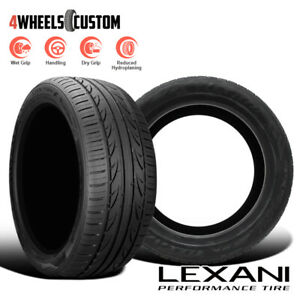 2 X New Lexani Lxuhp 207 225 40r18 92w Ultra High Performance All Season Tires