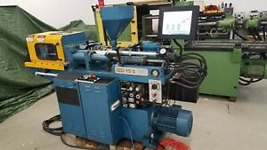 Boy 24 Ton Injection Molding Machine New Controls Excellent Condition