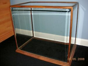 Antique Glass Display Case Circa 1890 Local Pick Up Only