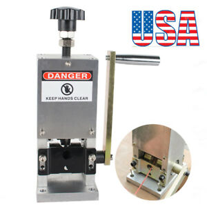 Manual Electric Wire Stripping Machine Cable Stripper Metal Tool Stripper usa