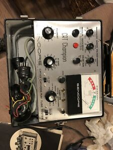 Sencore Cr143 Cathrode Ray Tube Tester Vintage Clean With Wiring Harness