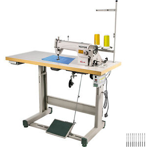 Ddl 8700 Sewing Machine With Table servo Motor stand lamp Industrial 550w Manual