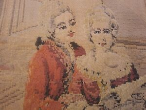 Large 6 Feet French Tapestry Priced To Sale Rare Item