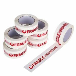 Fragile Tape Handle With Care Pre Printed Packing Tape 2 Inch X 110yds