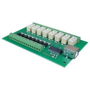 Devantech 8 channel 1a Optically Isolated Usb Relay Module