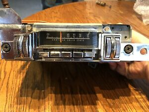 1970 Oem Mopar A Body Thumbwheel Radio Converted