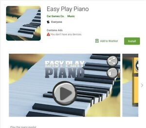 Playpiano Android Mobile App Online Business Passive Income Offers Accepted