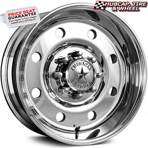 American Force Beast Ss8 Mirror Polished 19 5 x7 5 Wheels Rims 8 Lug set Of 4
