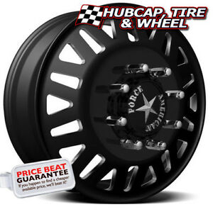 American Force Liberty 6 19 5 x6 75 Dually Custom Wheels Rims 8 Lugs Black