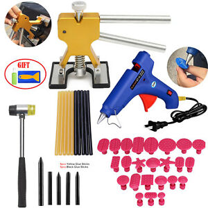 Dent Puller Lifter Hammer Paintless Dent Repair Tools Car Auto Removal Kit