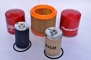 Mahindra Tractor Filter Economy Pack Of 5 For E 350 3505 C4005 4505 5005
