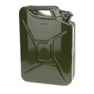 New 20l Metal Jerry Can Diesel Petrol Oil Water Storage Military Style Cans