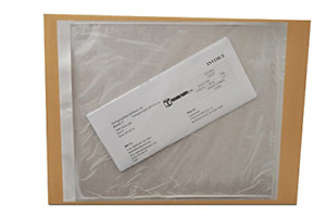 Shipping Label Pouch Packing List Envelope Clear White 9 1 2 X