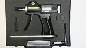 Fowler Bs Holematic Mk Ii 6 20mm Pistol Grip Bore Gauge Rt Angle Ext Set Ring