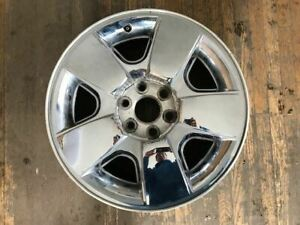 Wheel 20x8 1 2 5 Spoke Covered Lug Nuts Fits 09 11 Avalanche 1500 427690