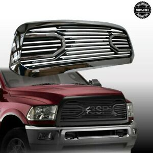 For 2013 2017 Dodge Ram 1500 Big Horn Gloss Black Grille replacement Shell