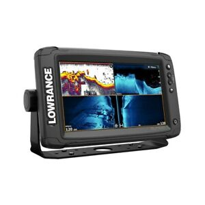 Lowrance Elite 9 Ti2 Fish Finder Chartplotter with US Inland Chart 000-14643-001