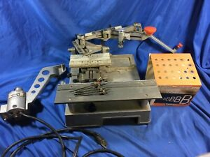 New Hermes Motorized Engraver Gm Mini Pantograph And Ascessories