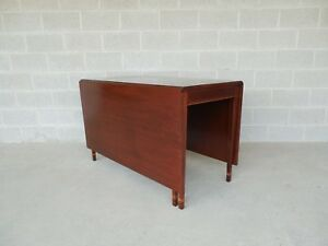 Antique Federal Style Mahogany Drop Side Table
