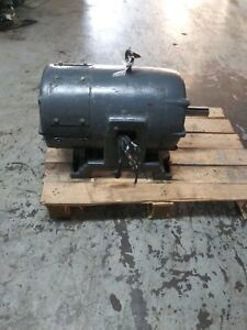 Unbranded 50hp Or 75hp Or 100hp Electric Motor 3 phase 460v Probably