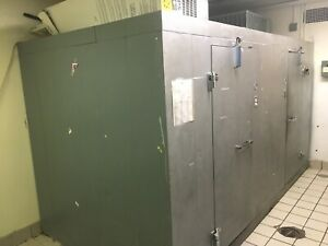 Norlake Walk In Freezer cooler Side X Side Combo Replaced Both Compressors