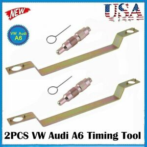 2x Vw Audi A6 Camshaft Alignment Engine Cam Timing Locking Holding Tool Kit S4be