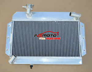 56mm Aluminum Radiator For Rover Mg Mga 1500 1600 1622 De Luxe 1955 1962 Mt