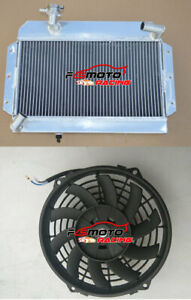 Aluminum Radiator Fan For Rover Mg Mga 1500 1600 1622 De Luxe 1955 1962 Mt