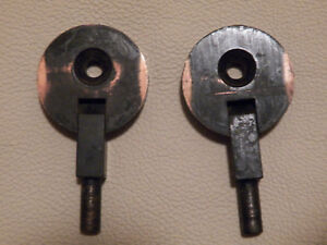 Vintage Antique Sewing Machine Mounting Cabinet Hinges