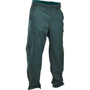 Fireline 9 Oz Ultra Soft Wildland Fire Pants Green Size Small Short Inseam
