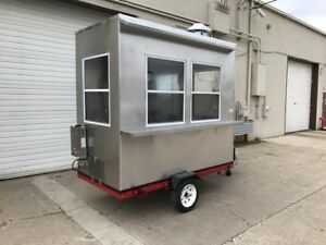 Nsf Hot Dog Stand in Mobile Food Cart Catering Trailer Kiosk Stand