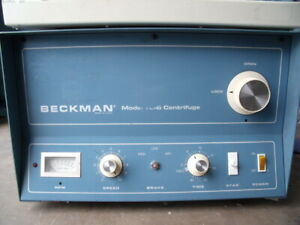 Beckman Tj 6 Tabletop Centrifuge With Rotor Inserts Warranty T13