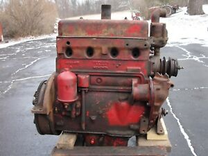 Farmall W H M Parts Engine 1947
