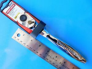 New Craftsman 3 8 Thin Profile Ratchet 44995 New Push Button Release