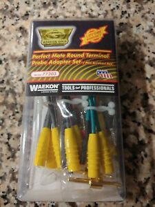 Waekon Gold Perfect Mate Round Terminal Probe Adapter Set 77203