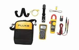 Fluke 116 323 Kit Multimeter And Clamp Meter Combo Kit 7 Days Nib
