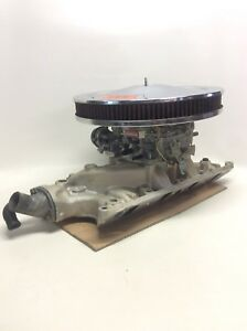 Edelbrock 1411 Performer Series 750 Cfm Carburetor 289 Performer Intake