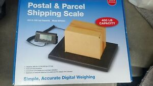 Brecknell Postal Parcel Shipping Scale 400lbs Bps400 Digital New